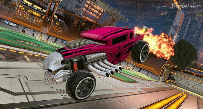 Rocket League Hot Wheels Bone Shaker