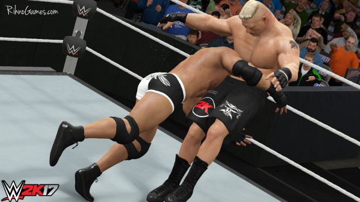 WWE 2k17 GAME