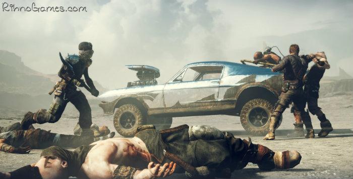Mad Max Gameplay