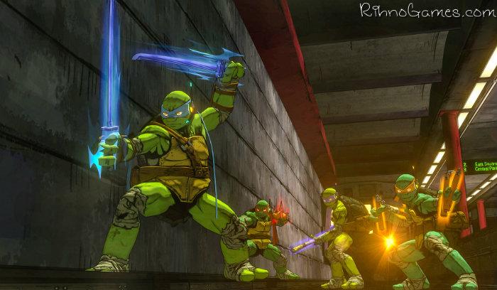 Teenage Mutant Ninja Turtles Mutants in Manhattan Game