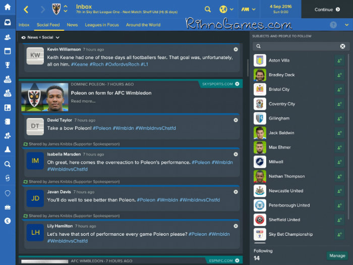 Football Manager 2017 Free for PC