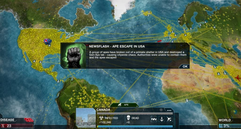 Plague Inc Evolved all DLC