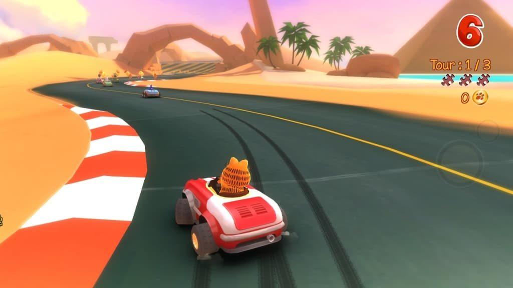 Garfield Kart free for PC