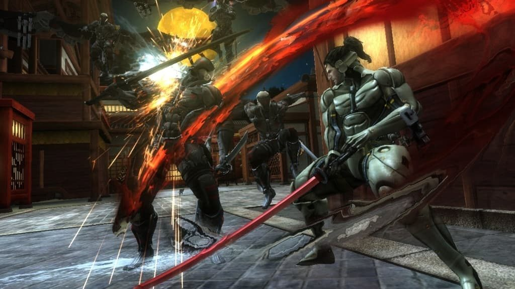 Metal Gear Rising Revengeance pc game torrent