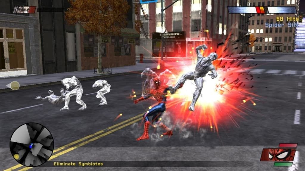 Spider Man Web of Shadows pc download