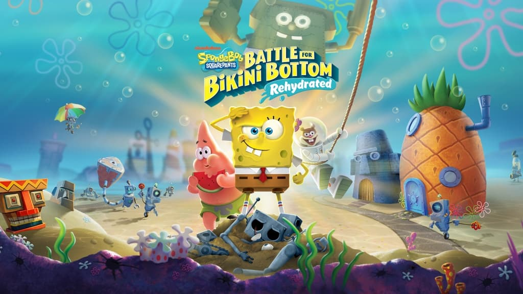 SpongeBob SquarePants Battle for Bikini Bottom Rehydrated Free Download