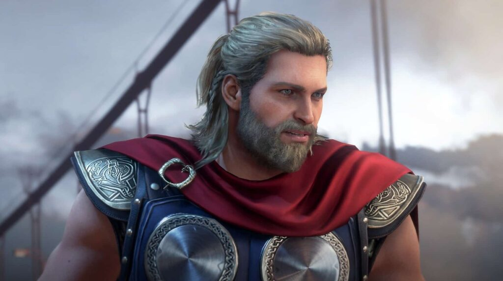 Thor in Marvels Avenger Game