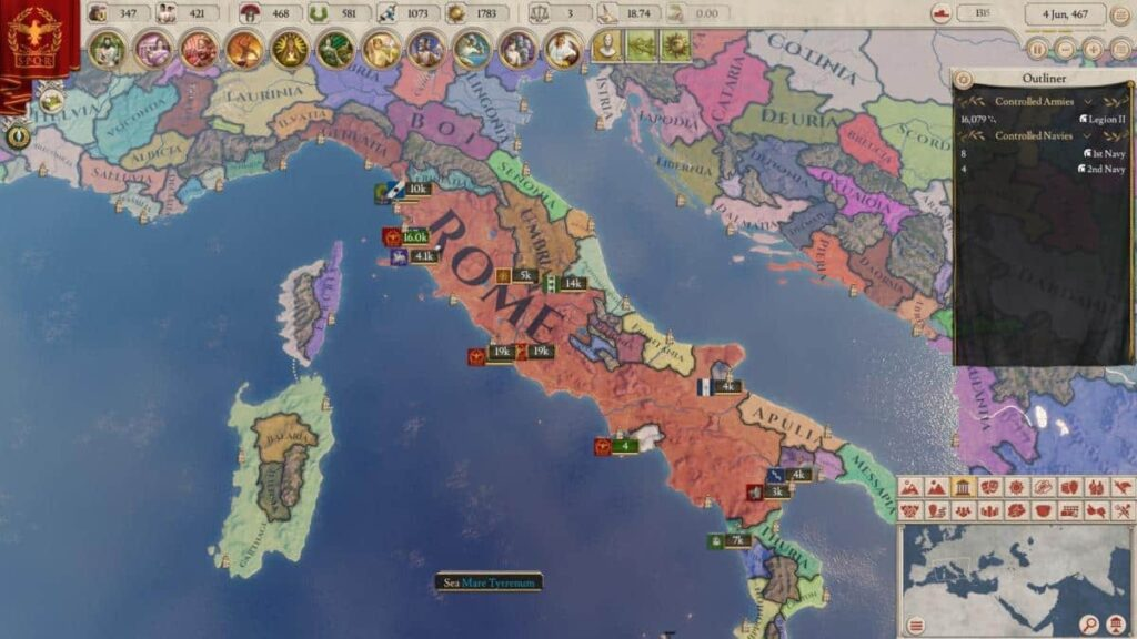 Impertor Rome Game