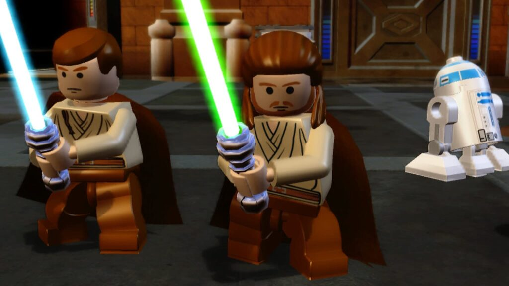 Lego star wars the complete saga free game