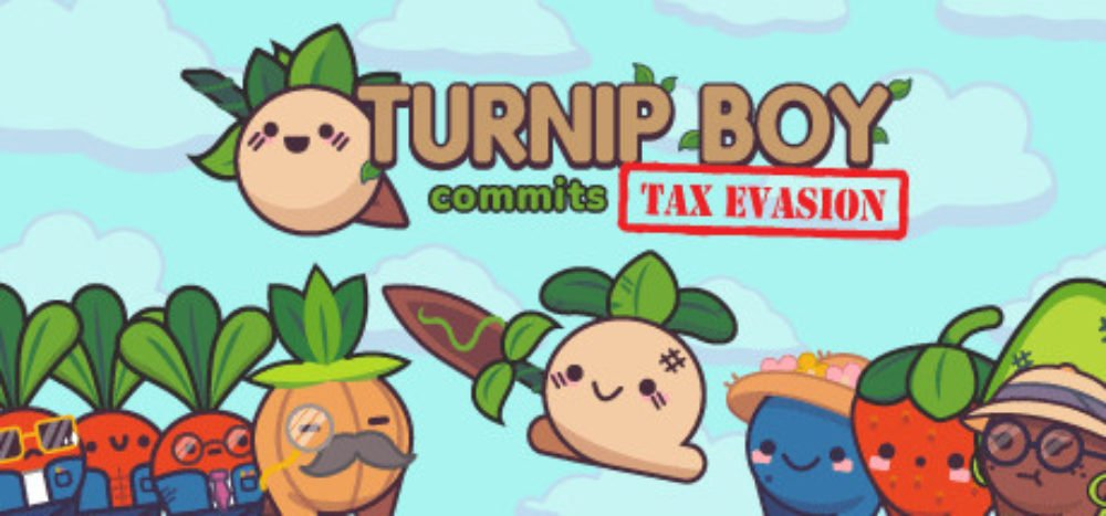 Turnip Boy Commits Tax Evasion Free download Game