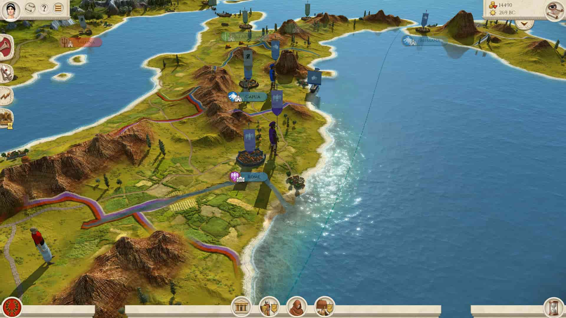 لعبة Total War ROME REMASTERED المجانية
