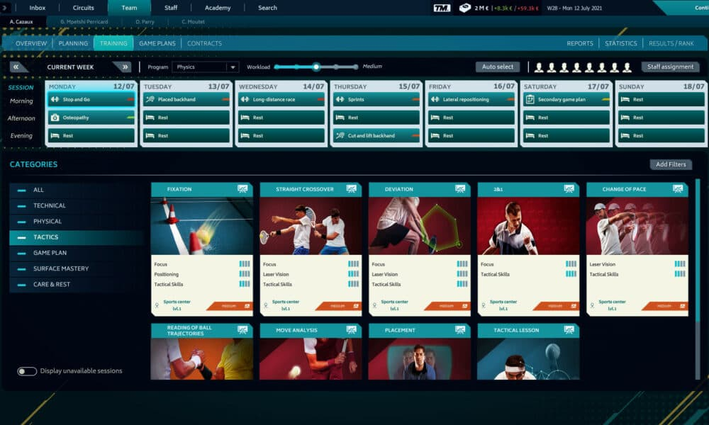 Tennis Manager 2021 Free Download Game